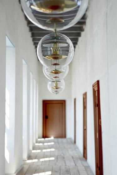 VP Globe   Brass - Pendant by Verpan