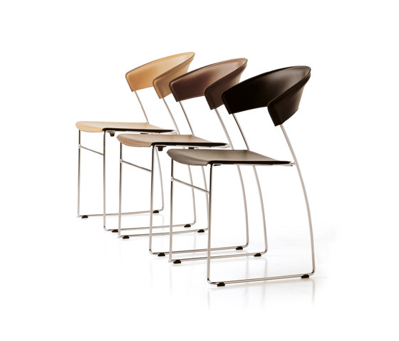 Juliette bar stool by Baleri Italia by Hub Design