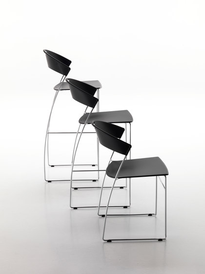 Juliette bar stool von Baleri Italia by Hub Design