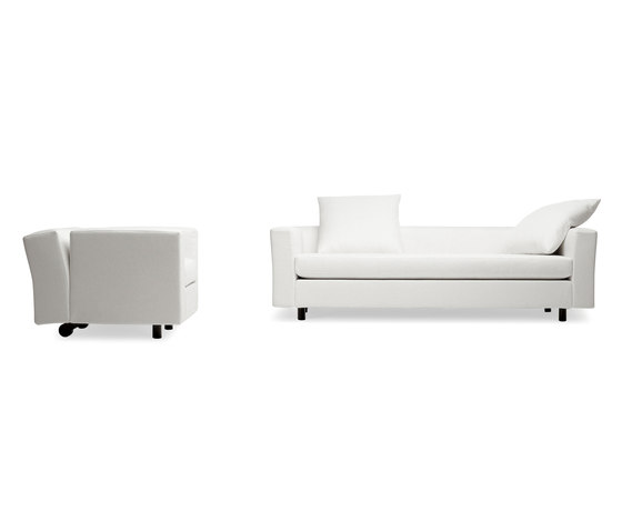 Bill armchair by Baleri Italia by Hub Design