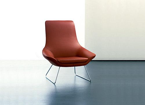 Flow bucket seat di Walter Knoll
