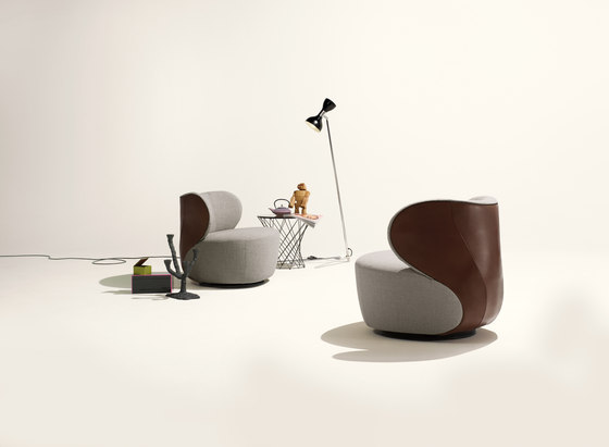 Bao armchair by Walter Knoll