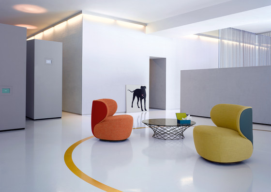 Bao armchair di Walter Knoll