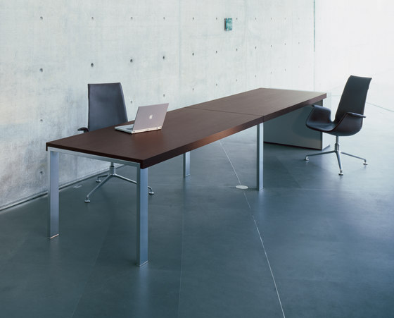 Frame conference table by Walter Knoll