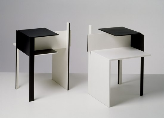 de stijl night stands from classicon architonic. Black Bedroom Furniture Sets. Home Design Ideas