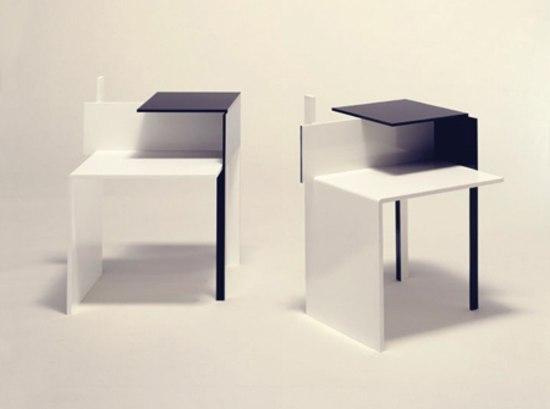 de stijl tables de chevet de classicon architonic. Black Bedroom Furniture Sets. Home Design Ideas