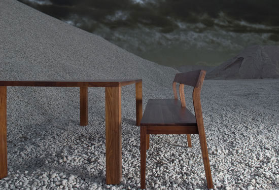 Sit Bench by Zeitraum