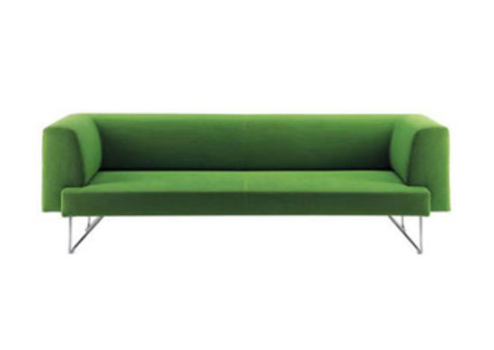 Zoom two-seat sofa by WIENER GTV DESIGN