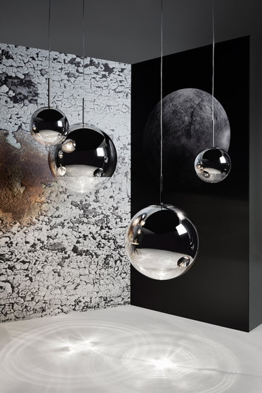 Mirror Ball Pendant 40cm by Tom Dixon