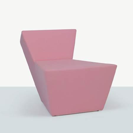 Cut armchair by Derin