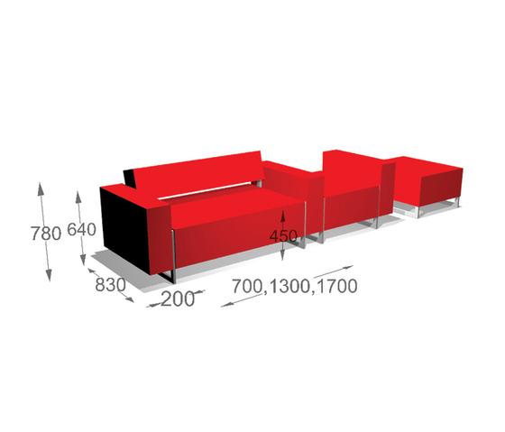 Box Sofa System by Inno