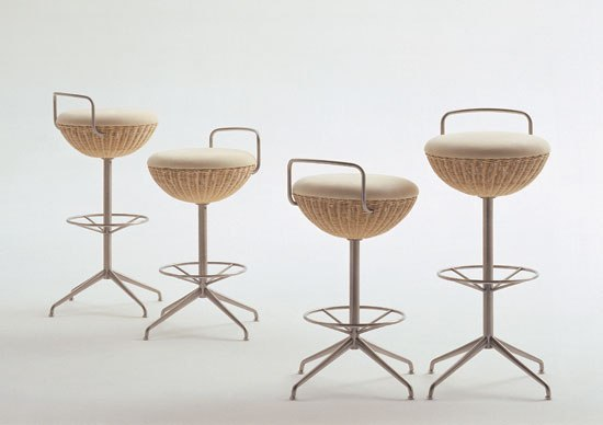 Balloon bar stool S/L by Bonacina Pierantonio