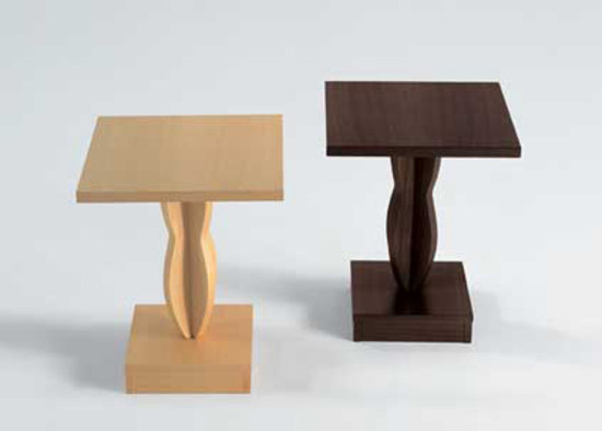 Mogador pedestal table de Artelano