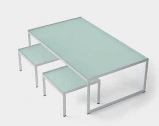 Seventies square coffee table de Artelano