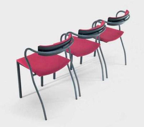 Rio stackable bar stool de Artelano