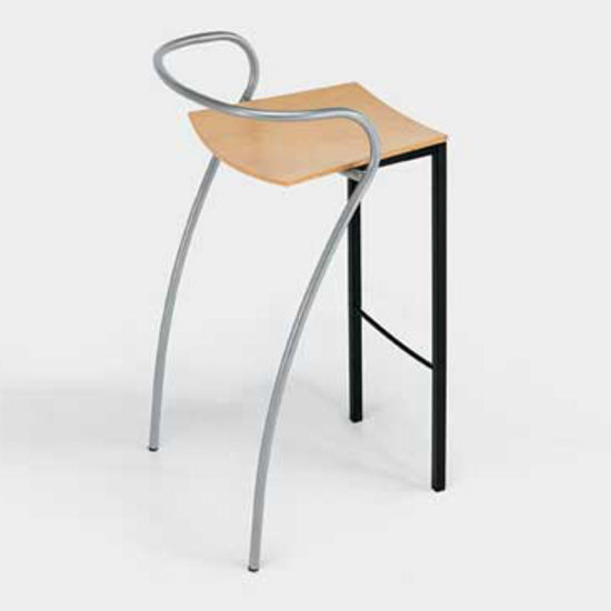 Rio stackable bar stool by Artelano