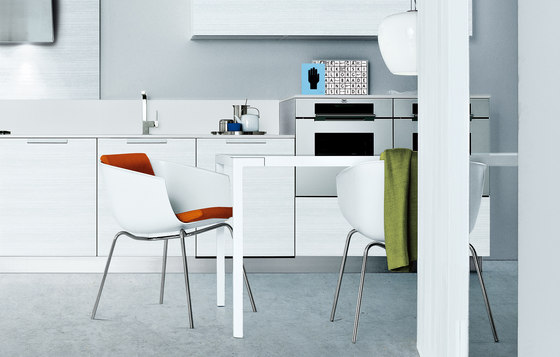 Strip chair by Poliform