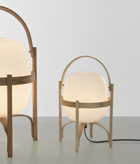 Cesta | Table Lamp by Santa & Cole