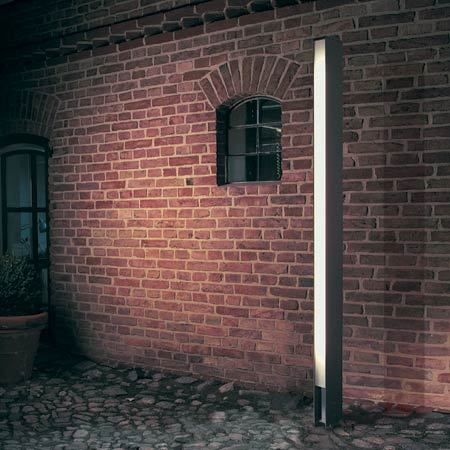 Standing outdoor lamp by Mawa Design