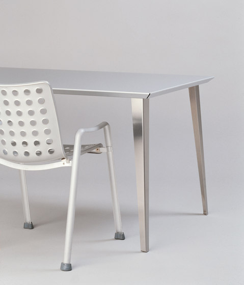 adeco RADAR T15 Aluminium Table de adeco