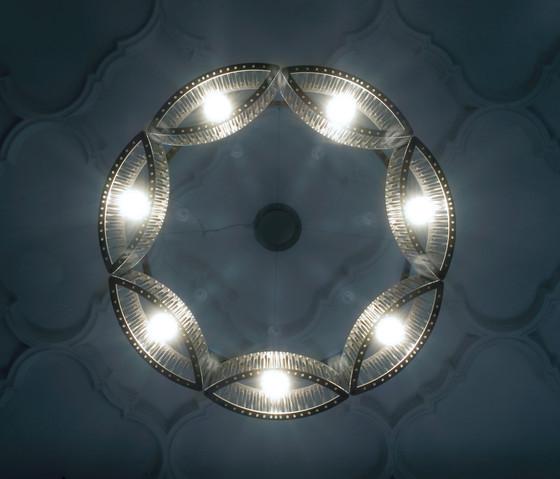 Stilio 11/8/5 Brass di Licht im Raum