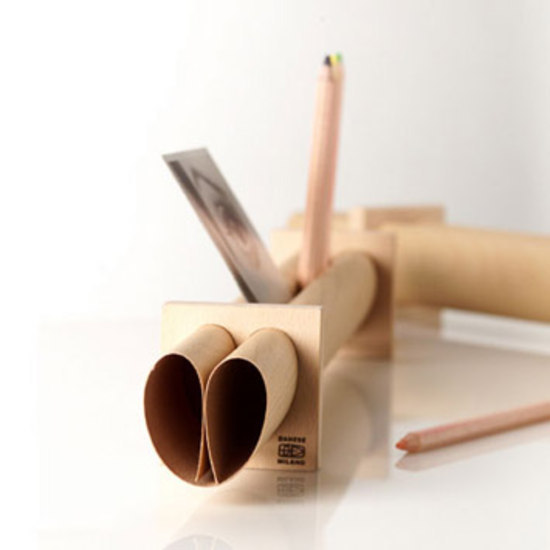 Oslo memo/pencil holder by Danese