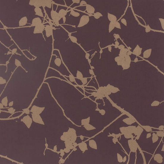 Briar spring green/pewter wallpaper by Clarissa Hulse
