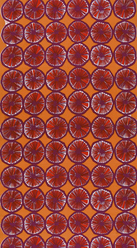 Appelsiini 640 interior fabric by Marimekko