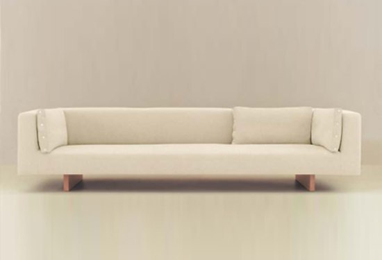 Le Foglie bench by Dema