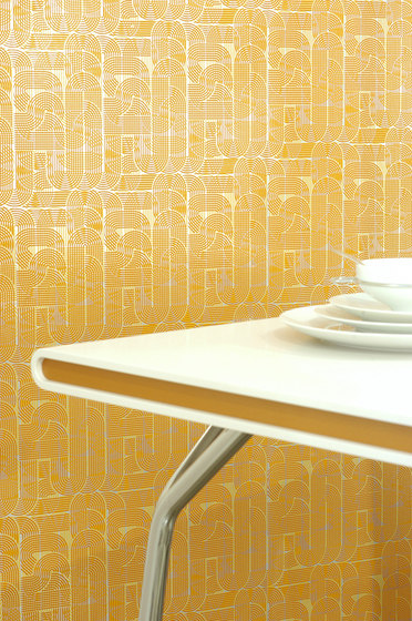 Circuit chocolate wallpaper by Flavor Paper