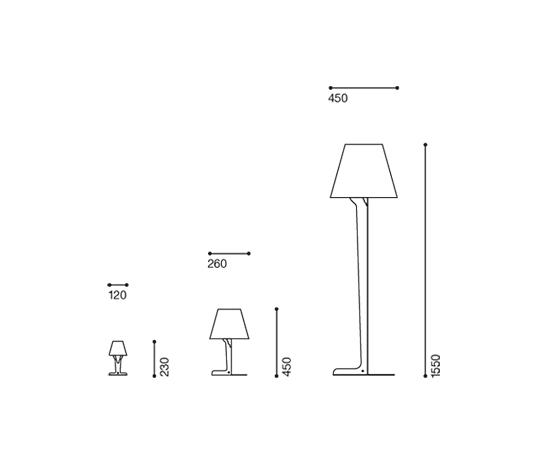 Fold lamp small de Established&Sons