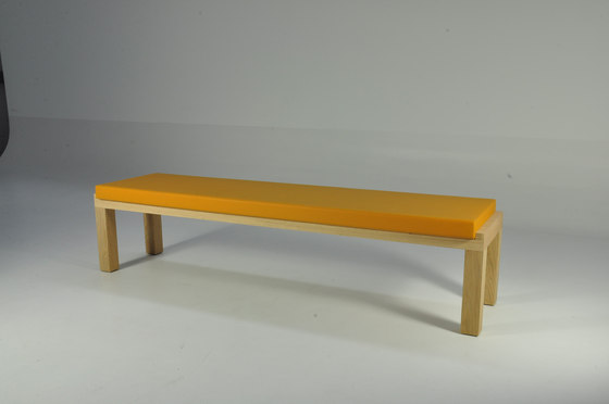 Camping Bench 220 with cushion by Quinze & Milan