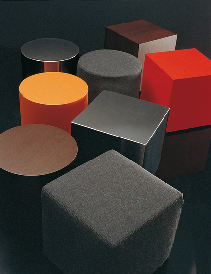 Domino 9265 Ottomans | Tables by Vibieffe