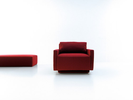 Mass corner sofa by viccarbe