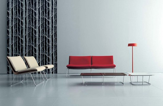 Leaf lounge chair di Living Divani