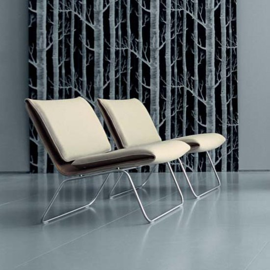 Leaf chaise longue di Living Divani