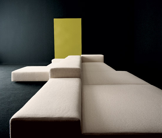 Extra Wall modular sofa system by Living Divani
