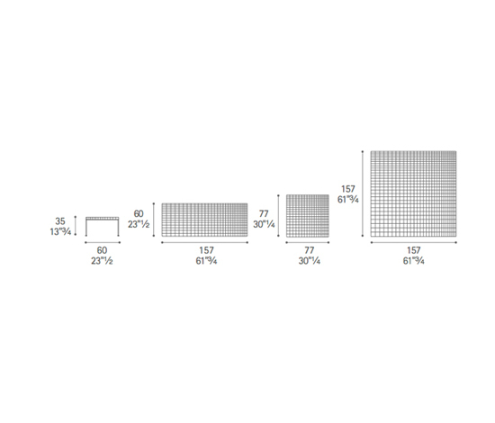 Geometrie by Poltrona Frau
