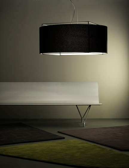 Lewit t pe Suspension lamp by Metalarte