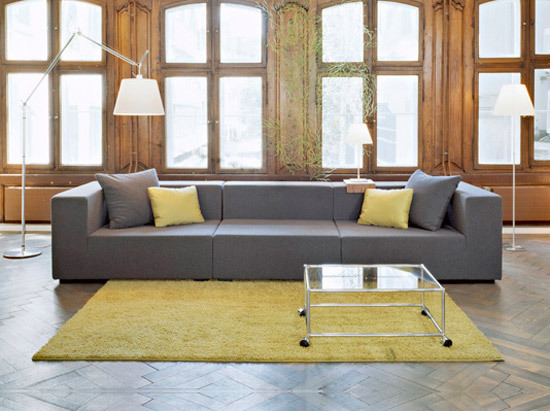 hp 05 sofa sofas von hugo peters architonic. Black Bedroom Furniture Sets. Home Design Ideas