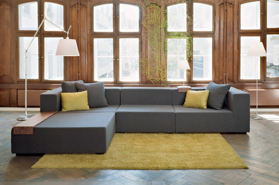 hp 05 sofa sofas from hugo peters architonic. Black Bedroom Furniture Sets. Home Design Ideas