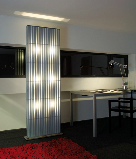 Paravent mobile H312 floor lamp by Dix Heures Dix