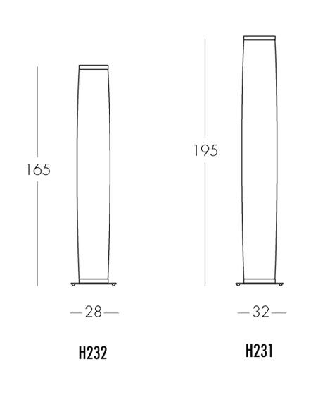 La Ronde H232 floor lamp by Dix Heures Dix