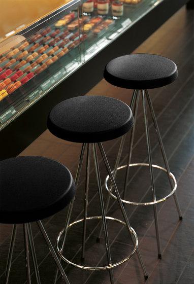 Nuta | taburete cromado 60 de Mobles 114