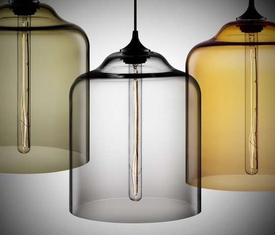 Bell Jar Modern Pendant Light di Niche