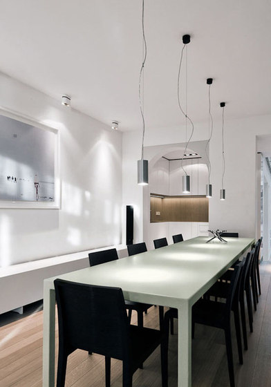 Nude suspension PAR20 by Modular Lighting Instruments