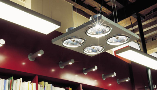 Aton 2x ARIII TI/EX vertical de Modular Lighting Instruments