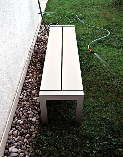 Sushi Outdoor Table by Kristalia
