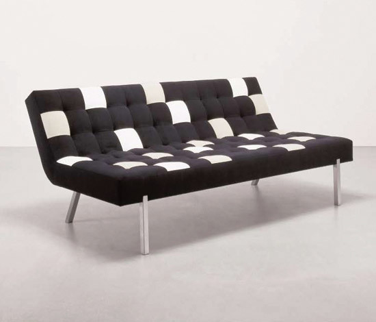 Pixel Chair/Ottoman by Dune