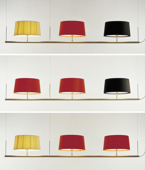 Sistema Gran Fonda | Pendant Lamp de Santa & Cole